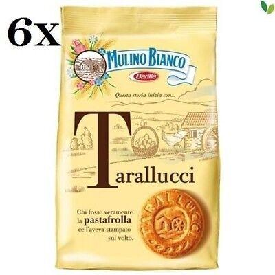 6x Mulino Bianco Tarallucci Biscuits 800g Italian Butter Cookies Shortbread 8076809505901 Ebay