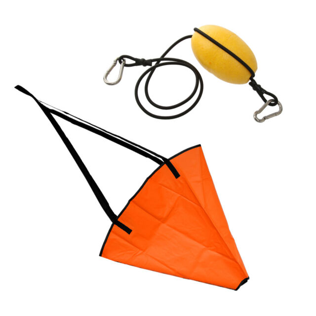 Premium Sea Anchor Drogue Sailing Boat Yacht Drifting Sock /& Float Tow Rope
