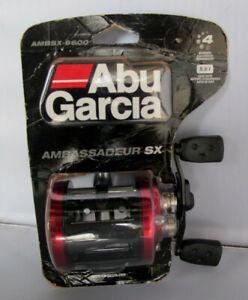Abu Garcia Ambsx - 6600 Ambassadeur Sx Peche Baitcast Round Reel-droitier-afficher Le Titre D'origine