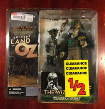 McFarlane's Toys Monsters Series Two Twisted Land of Oz Wizard w/ Scientist