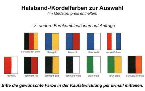 freie Farbkombination mit Emblem & Band 37,40 EUR 48 Medaillen D110 d=45mm