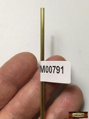 """M00793 MOREZMORE 1 Brass Square Tube 5//32/"""" K/&S Engineering Tubing 8152"""