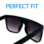 Sunglasses-XXL-OVERSIZED-034-over-the-hills-034-Women-Aviator-Flat-Top-GAFAS-Shadz thumbnail 15