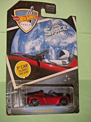Mattel Hot Wheels Car Culture SPACEX STARMAN 08/' TESLA ROADSTER IN SPACE NEW