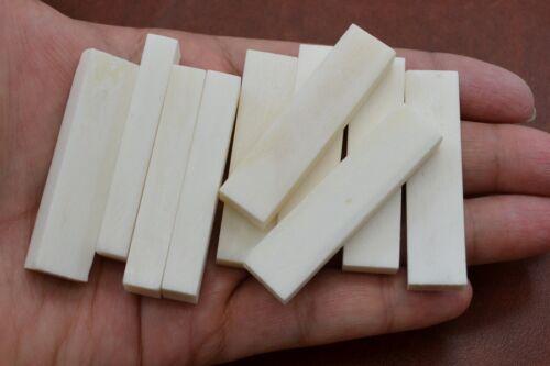 "5 PCS GUITAR BUFFALO BONE NUT BLANKS 2/"" x 1//2/"" x 6mm #T-661"