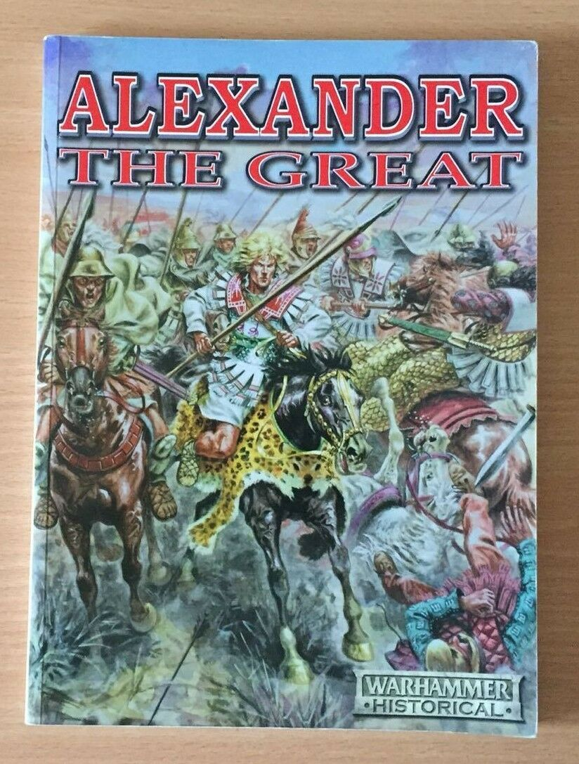 Games Workshop 2003 Warhammer Historical Alexander The Great Source Book