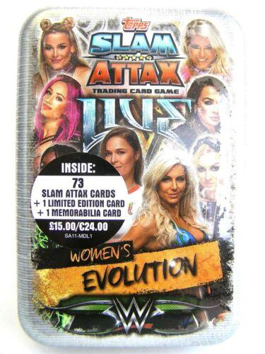 *** RRP £ 20.00 *** ENVOI GRATUIT Brand New, Sealed Slam Attax pour femme Evolution