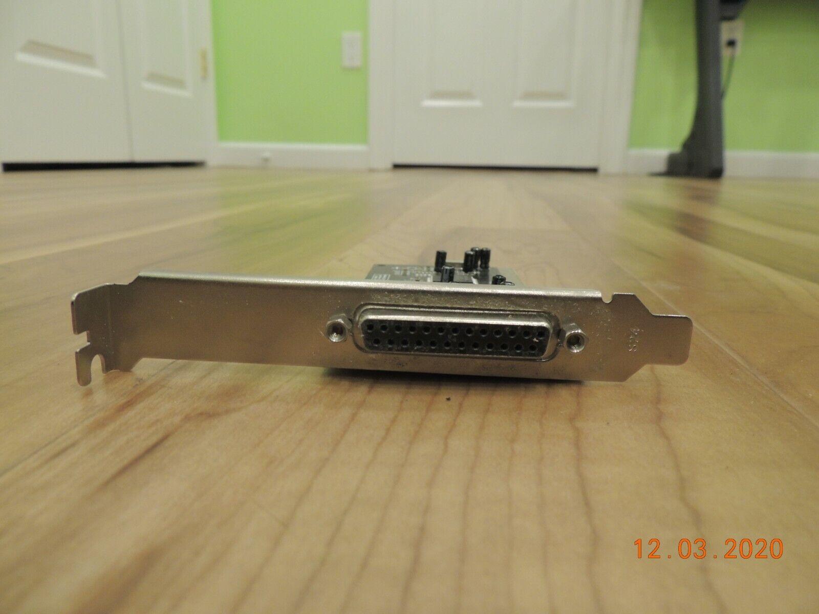 Vitex Toshiba MP6535A Enhanced Single 25 Pin Parallel Printer ISA Card Jmdf25r