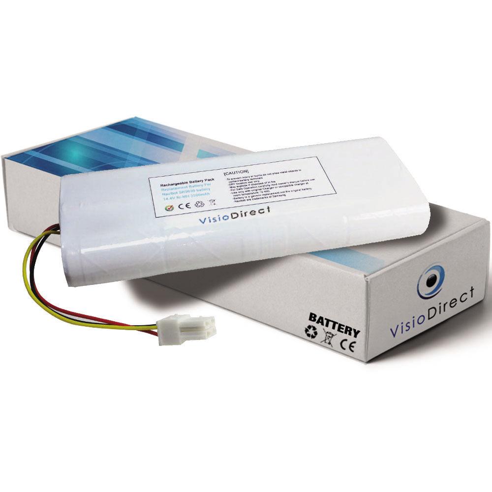 Batterie 14.4V 3500mAh pour Samsung Navibot VC-RE72V - Société Française -