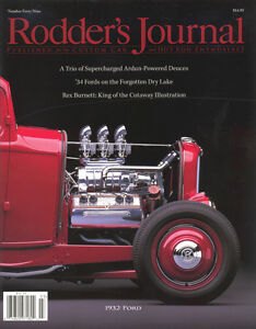 No. 49 Newsstand Cover B 1932 Ford RODDERS JOURNAL