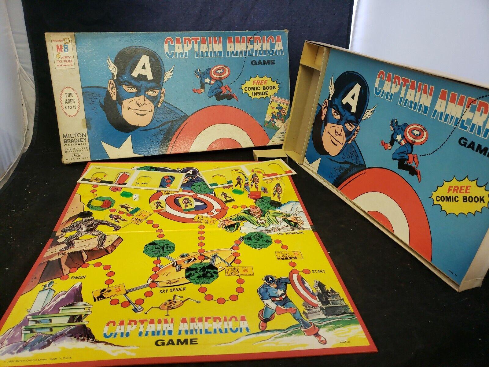 Capitán América de 1966 Juego de Mesa no Comic 4642 (f1)