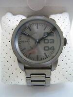 Diesel Watch Double Down Dz1558 Gunmetal Stainless Steel Bnib Genuine