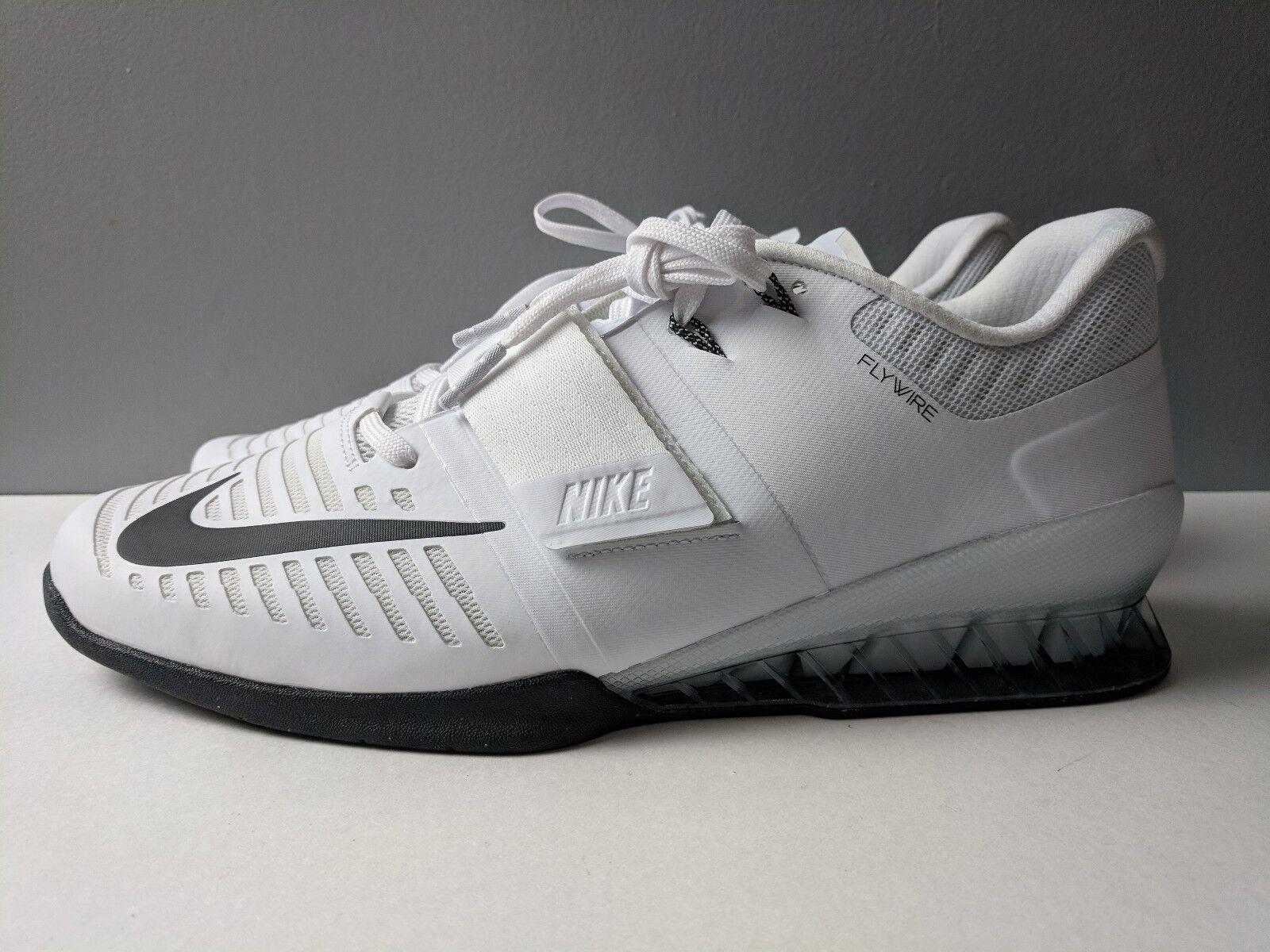 Nike hombre romaleos negro 3 halterofilia zapatos blanco negro romaleos comodo acf58f