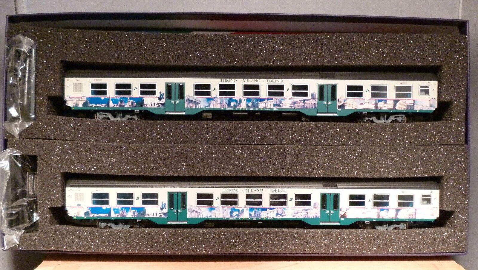 Vitrans H0 piv-81503 2tlg.reisezugwagen-set mdvc ep.5 neuf et dans l'em BALLAGE