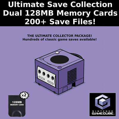 Ultimate Save Collection 200 Saves 100 Complete Gamecube