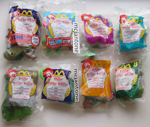 MIP-SET-8-McDonald-039-s-2000-TARZAN-Complete-8-Toys-Jane-TERK-Clayton-Jungle