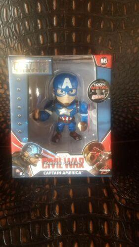 Marvel Captain America métaux Die Cast Figure M45 Avengers