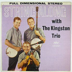 KINGSTON-TRIO-String-Along-VG-NM