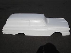 Details about 1964 Ford Falcon Sedan Delivery hot rod stroller pedal car  fiberglass body 1965