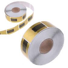 500PCS Nail Art Tips Extension Forms UV Gel Decoration Sticker Tool Acrylic