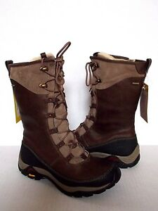 09422376e89 Details about AHNU~TAHOE RIDGE Insulated Waterproof Leather Winter Snow  Boots US 7 Alder bark