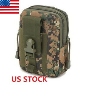 Tactical Waist Pack Belt Bag 600D Camping Outdoor Hiking Military Pouch Wallet