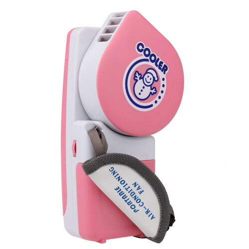 Mini Hand Held Air Conditioner Cooler Portable USB Battery Powered Cooling Fan