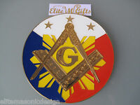 Masonic Master Mason Freemason Cut Out Car Emblem Philippines