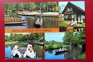 Spreewald, Bloto, DDR ungelaufen 1976 Trachten - Deutschland - Spreewald, Bloto, DDR ungelaufen 1976 Trachten - Deutschland