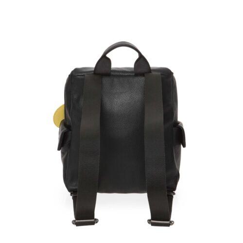 Mandarina Duck Mellow Leather Damen Rucksack Nero FZT92001 Leder Schwarz