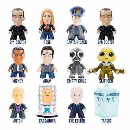 Venta al por mayor barato y de alta calidad. Titans Fantastic Fantastic Fantastic Colección 3 Doctor Who Pulgadas Mini Figura Vitrina  servicio honesto