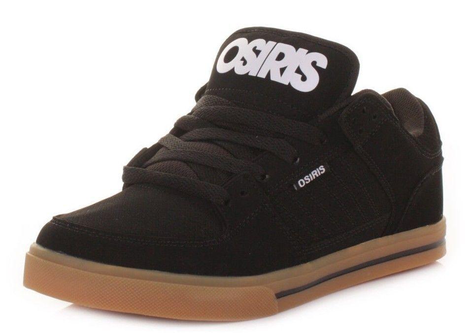 Osiris hommes Protocol noir blanc Gum Chaussures All