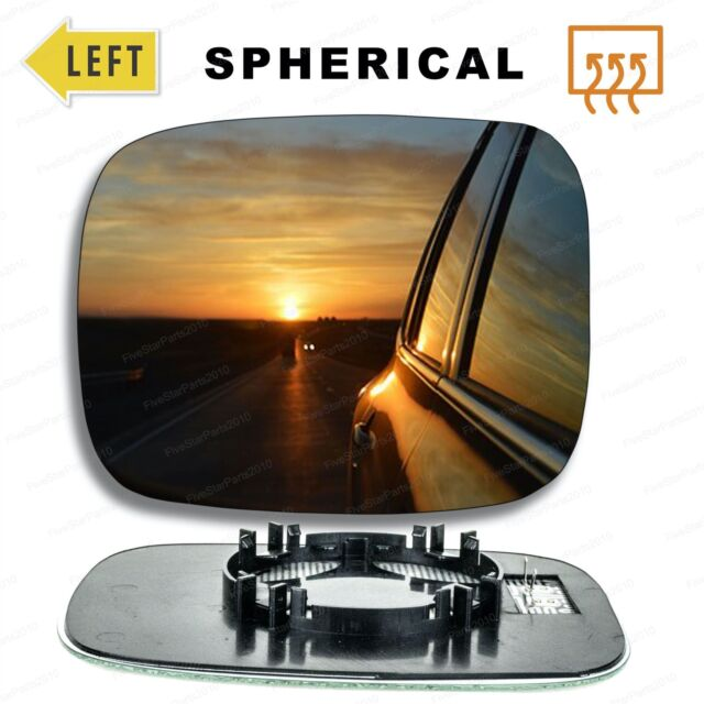 Left hand passenger side for Volvo V70 2007-2016 wing mirror glass