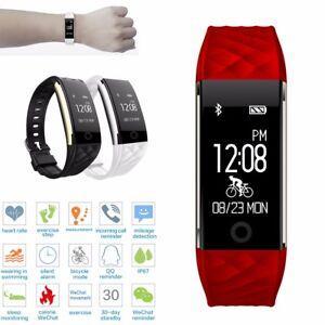 S2 Impermeable Bluetooth GPS Ritmo Cardíaco Inteligente Reloj Pulsera SmartWatch