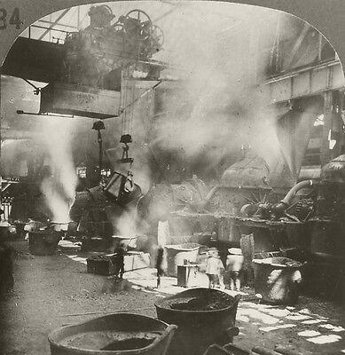 Keystone Stereoview Silver Smelter Cerro de Pasco RERU of 1930s T600 Set #T256