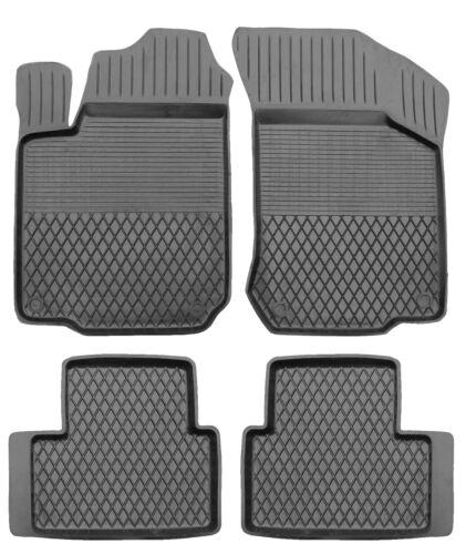 Tappetini in gomma per VW UP dal 2011 3d GOMMA-TAPPETINI alta qualità alta bordo