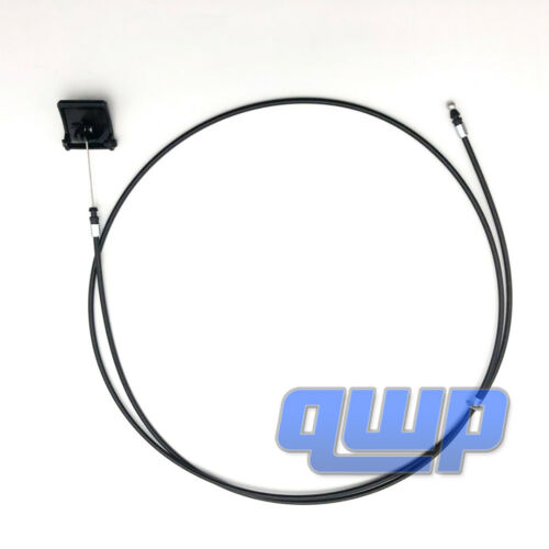 For 98-02 Toyota Corolla Hood Release Catch Cable With Pull Handle 5363002020