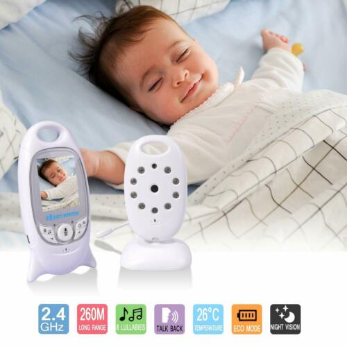 Wireless Digital Babyphone mit Farbe Kamera babyfone Video Monitor Nachtsicht DE