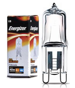 x-6-Energizer-33w-40w-G9-ECO-Halogen-Capsule-Bulb-Warm-White-3000k