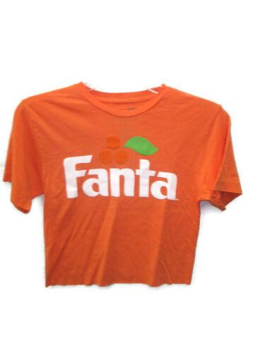 Orange Fanta Cropped Tee T-shirt Size Medium BRAND NEW