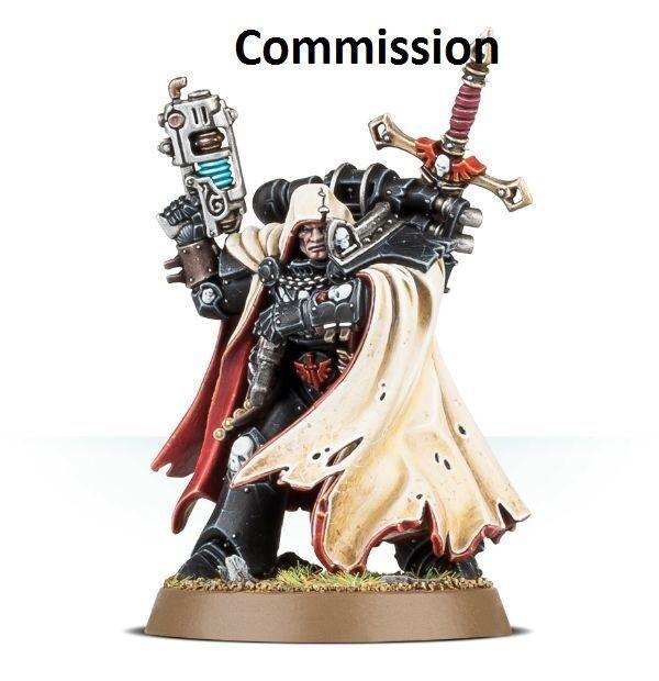 Ángel caído Cypher marines espaciales  Comisión  magníficamente pintado warhammer 40K