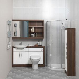 CG Salle De Bains Miroir De Maquillage Unité Avec Toilettes Bassin ...