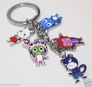 New-Fairy-Tail-Keychain-Happy-Carla-Frosch-Lector-Pantherlily-Keyring