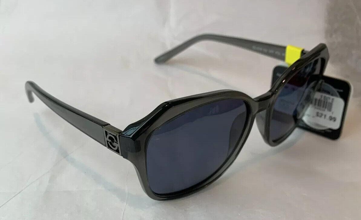 Foster Grant Polarized Clear Gray/Gray Butterfly Elegant Sunglasses 100% UVA/B