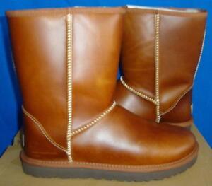 f4a75255461 Details about UGG Australia Chestnut Classic Short Leather Boots Size US 5,  EU 36 NIB #1005372