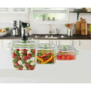 FoodSaver® Fresh Container, 3-Piece Bundle