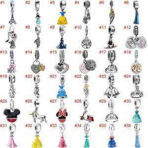 European-Charms-Silver-Beads-Pendant-CZ-Fit-925-Sterling-Bracelet-Necklace-Chain