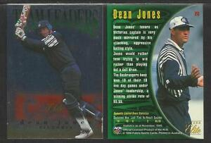 FUTERA 1996 CRICKET ELITE DEAN JONES TEAM LEADER CARD No 26