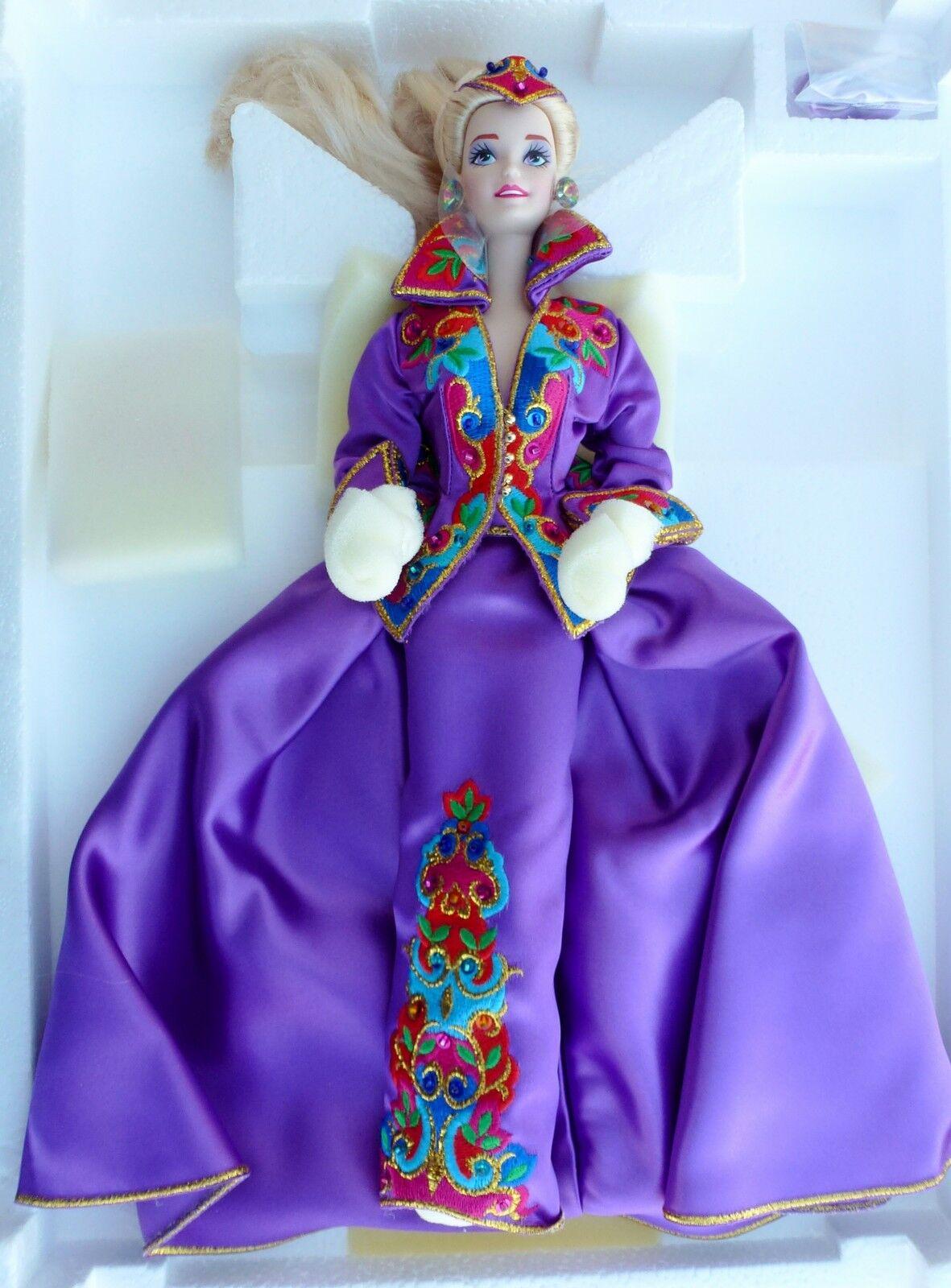 Royal Splendor barbie presidential porcelain porcelana limitado,  10950 NRFB