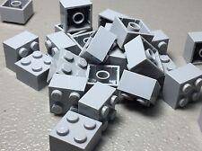 Lego X25 New Light Bluish Gray Briefcase City Mini Figures Suitcases Utensil